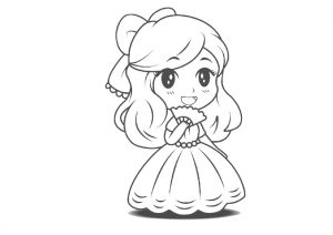 Cute Little Princess Coloring Pages