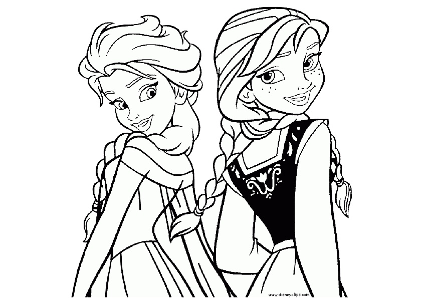 27 Disney Princess Coloring Pages for Girls - Print Color Craft | 595x842