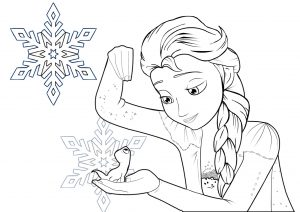 Frozen 2 Princess Elsa Coloring Pages