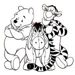 18 Disney Winnie the Pooh Coloring Pages Printable PDF