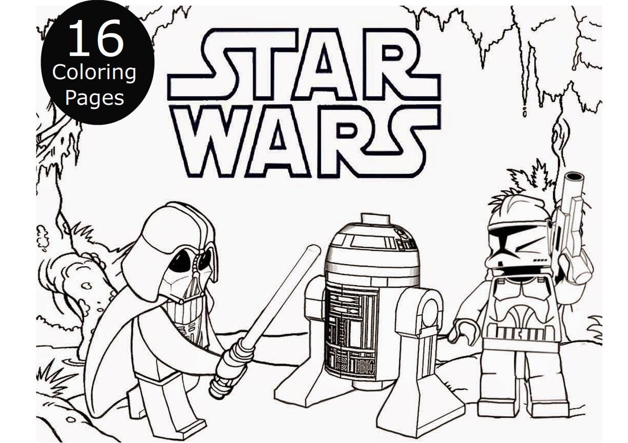 Star Wars Coloring Pages for Kids