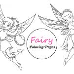 16 Fairy Coloring Pages: Printable PDF