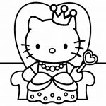 27 Printable Hello Kitty Coloring Pages