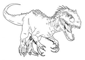 36 Printable Dinosaur Coloring Pages: Animals Coloring PDF