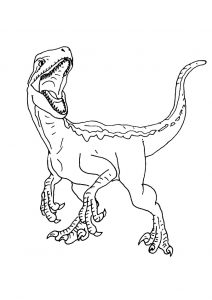 Jurassic World Movie Dinosaur Coloring Pages