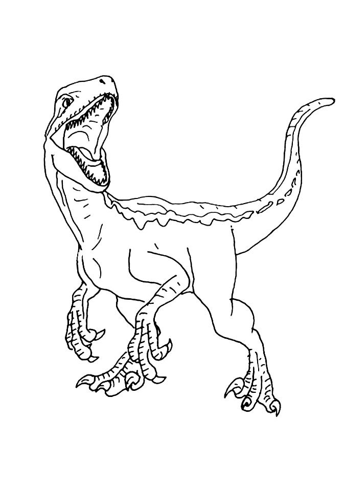 Jurassic World Coloring Pages - Best Coloring Pages For Kids | 952x673