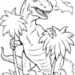 36 Dinosaur Coloring Pages: Easy & Hard Pages
