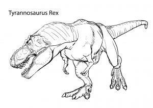 Realistic Look Dinosaur Coloring Pages Print and Color Sheets for kids