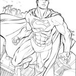 16 Superman Coloring Pages: Printable PDF