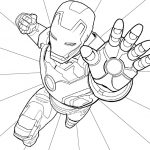 14 Iron Man Coloring Page: Marvel Superheroes