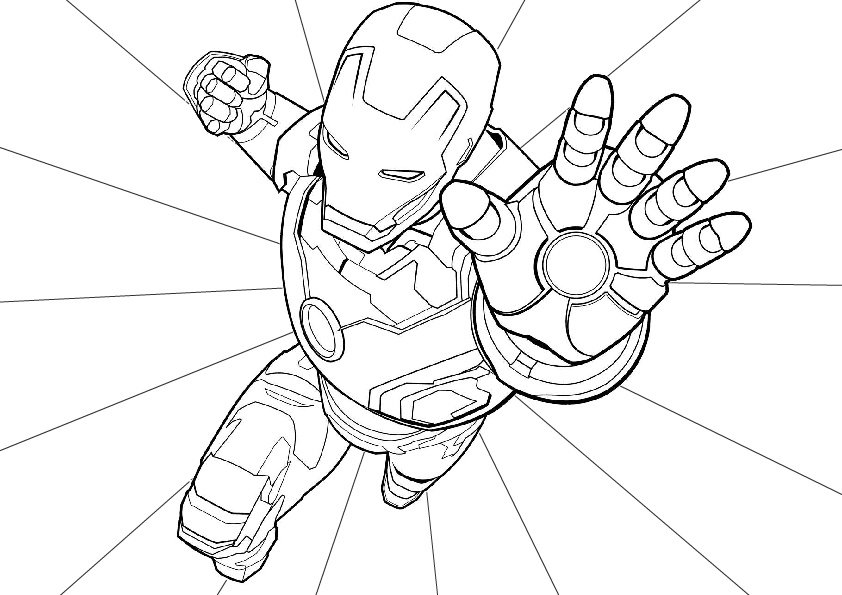 Hulk Coloring Page Free Marvel Printable | Mama Likes This | 595x842