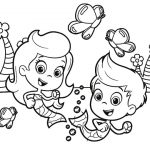 18 Bubble Guppies Coloring Pages: All Characters