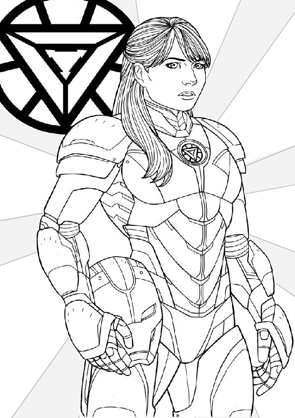 Pepper Pot Coloring Pages for Girls