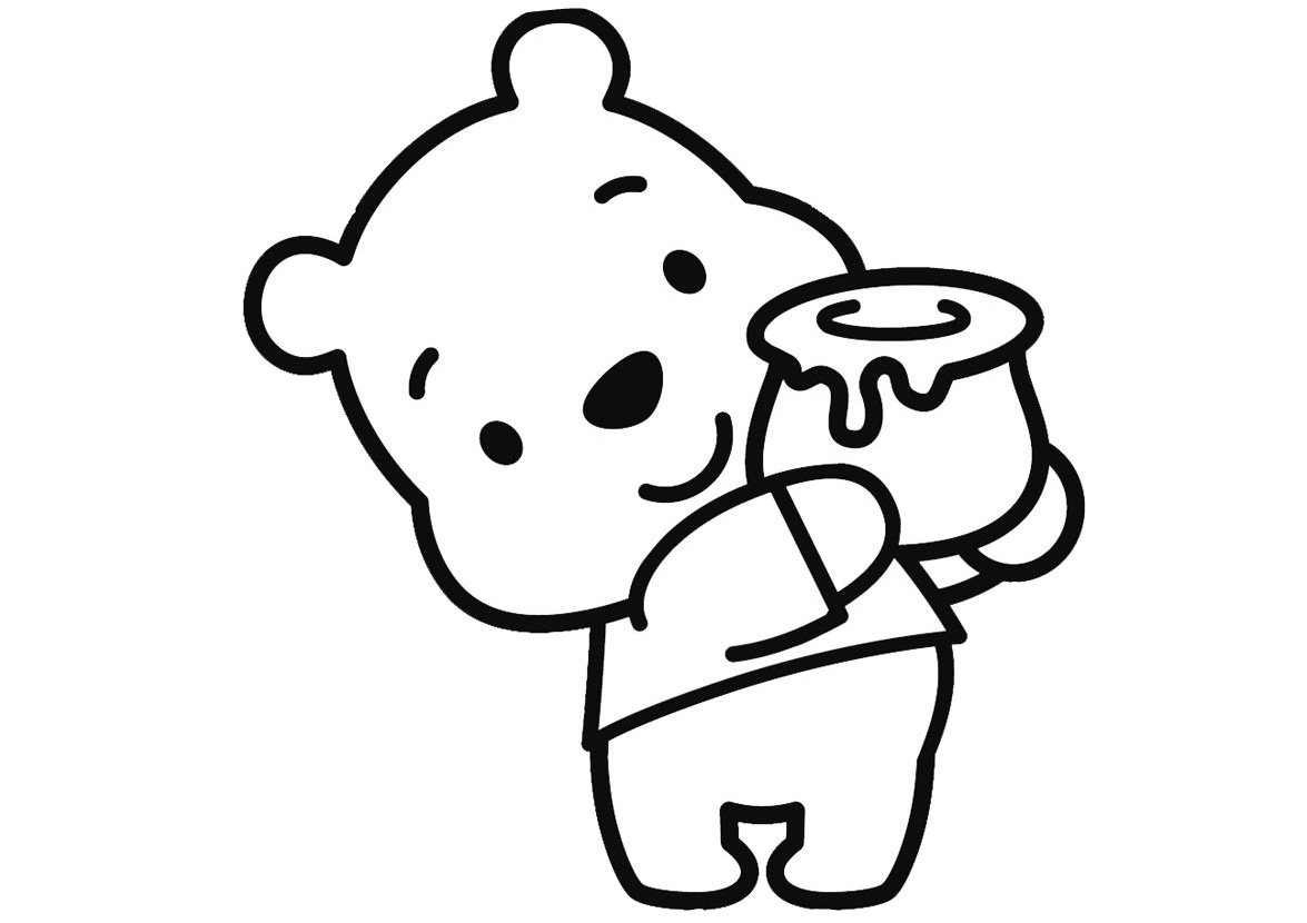 Free Printable Winnie The Pooh Coloring Pages For Kids | 830x1175