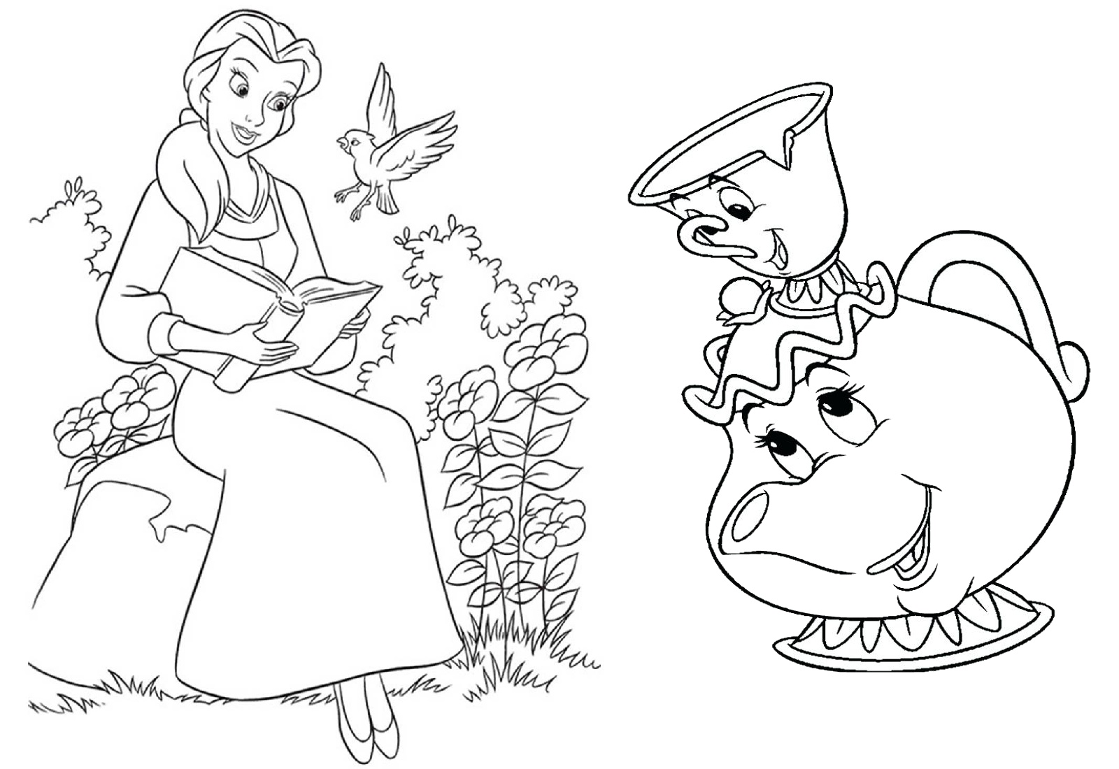 Free Printable Sleeping Beauty Coloring Pages For Kids | 1100x1600