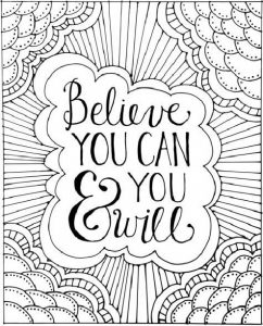 Coloring Pages Love Quotes – Slavyanka | 300x242