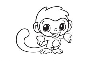 Cute Animal Coloring Pages Pleasing Little Money with Cute Expression