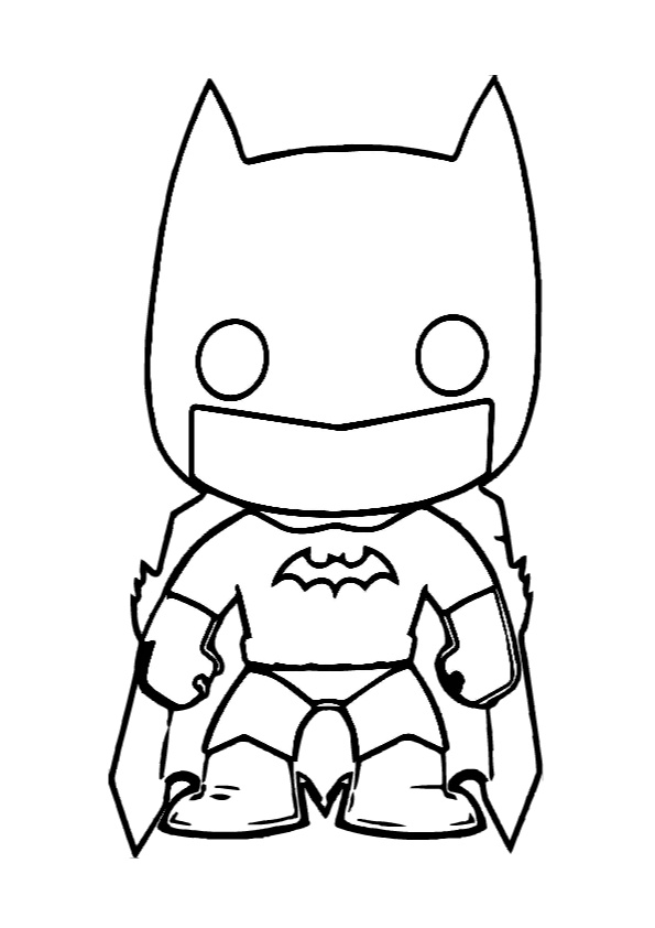 Free Printable Batman Coloring Pages For Kids | Cartoon coloring ... | 842x595