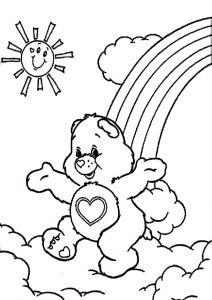 Free Printable Care Bears Coloring Pages