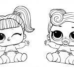 18 LOL Coloring Pages: Cute Printable Surprise Dolls