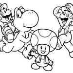 27 Mario Coloring Pages: Mario Luigi & All Characters