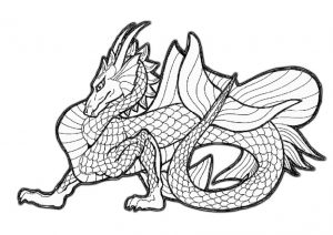 Mighty Dragons Free Printable Coloring Pages Easy to Color