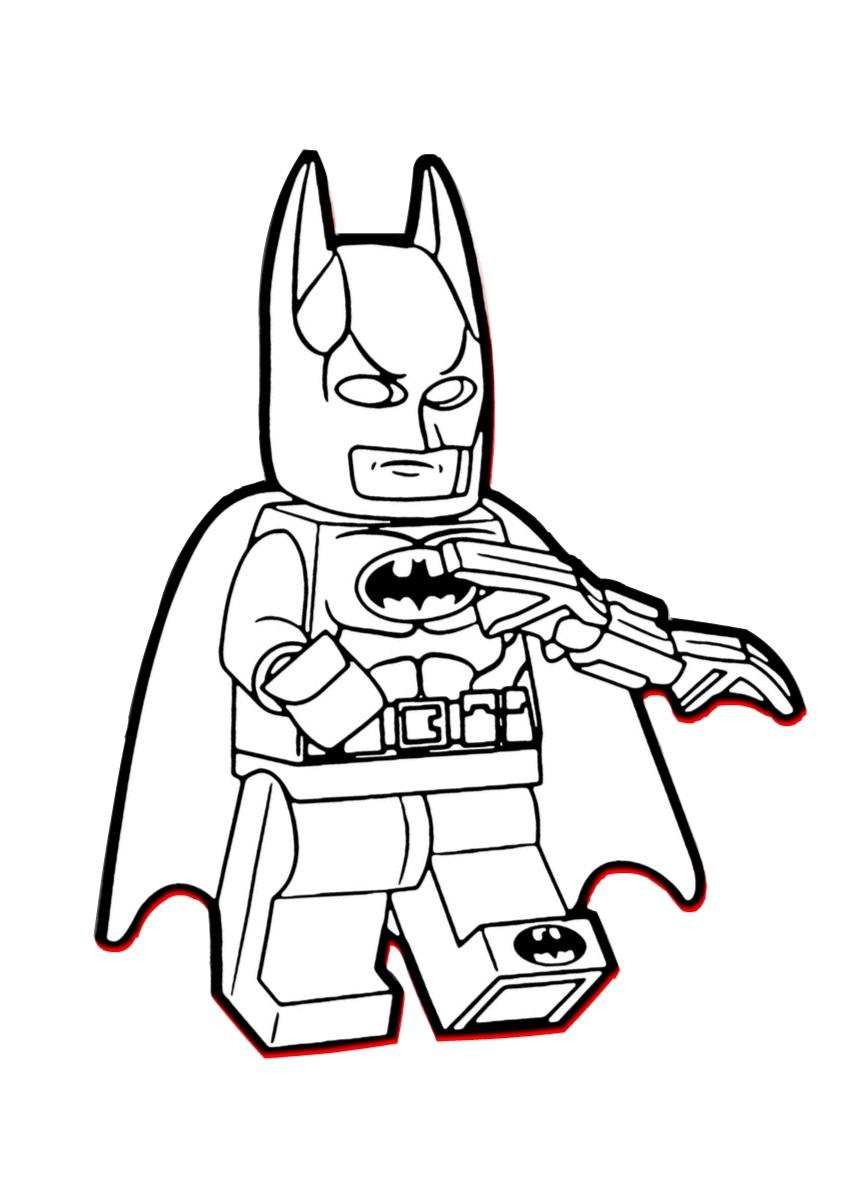 Printable Lego Batman Coloring Pages