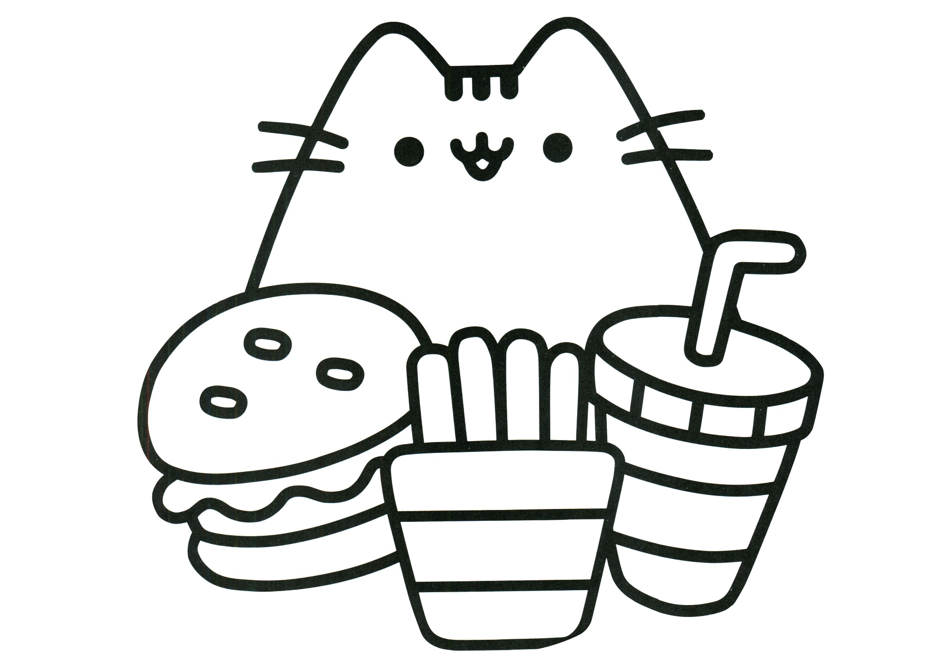 Free Printable Cat Coloring Pages For Kids | 1350x1920