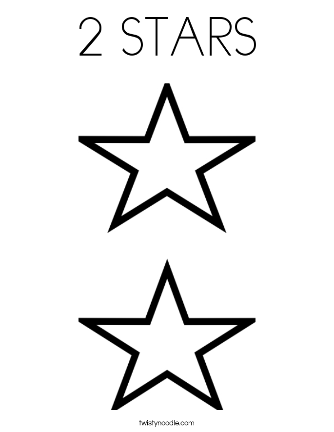 Star Coloring Pages | Print Color Craft