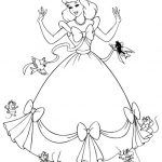 23 Disney Princess Cinderella Coloring Pages for Girls