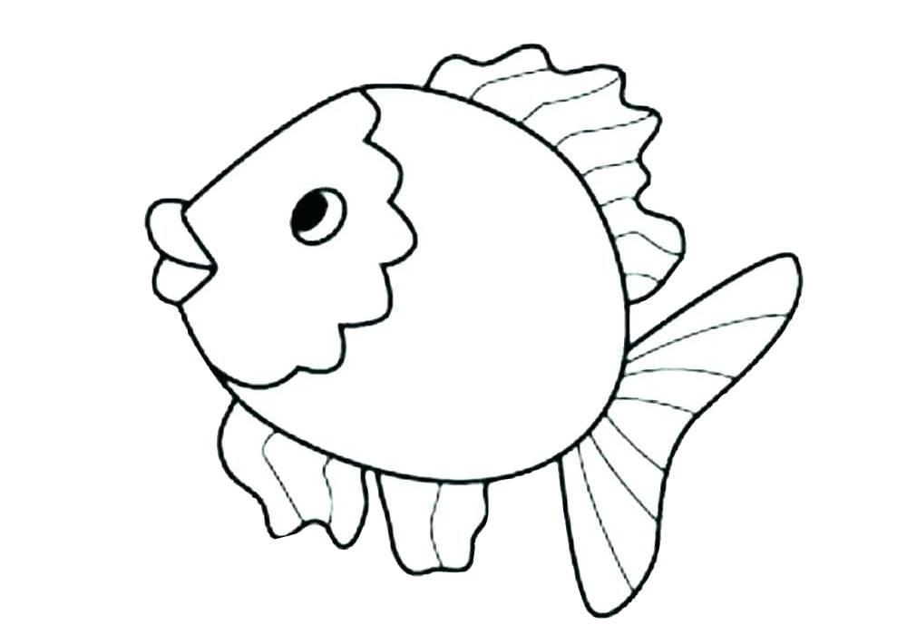 Cute Little Fish Coloring Pages - Print Color Craft