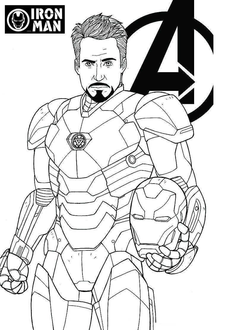Printable Avengers Coloring Pages: Kids & Adults PDF ...