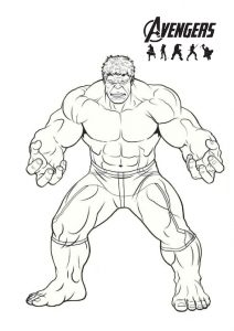 27 printable avengers coloring pages easy  hard pdf