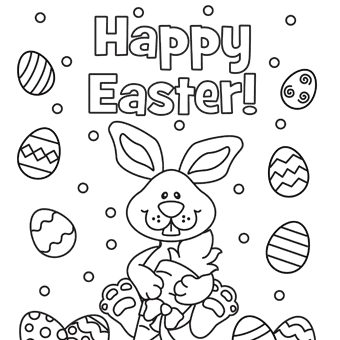 Easter coloring pages 3