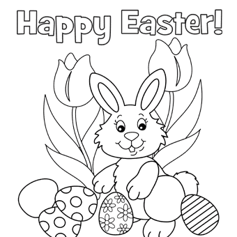 Easter coloring pages 4