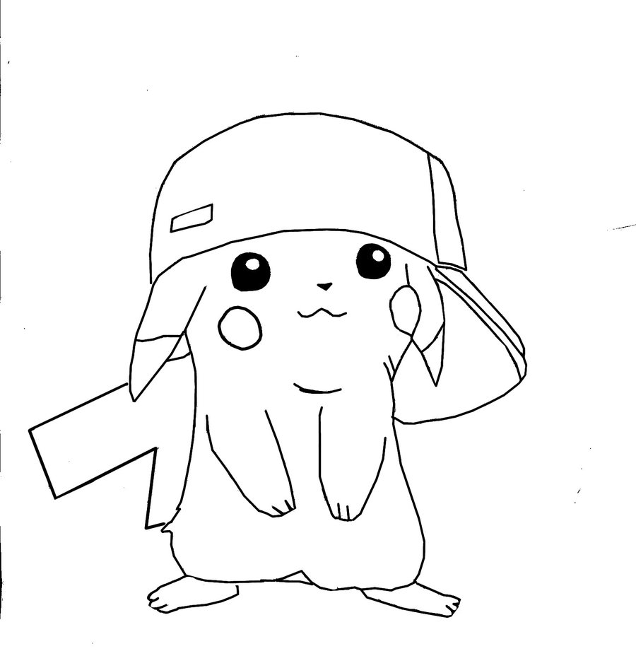 pokemon pikachu coloring pages 2