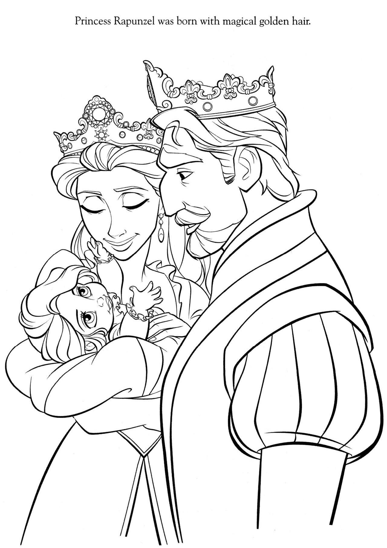 Baby Rapunzel Princess