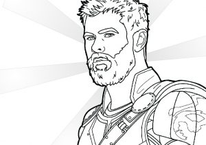 16 Thor Coloring Pages: Marvel Superheroes