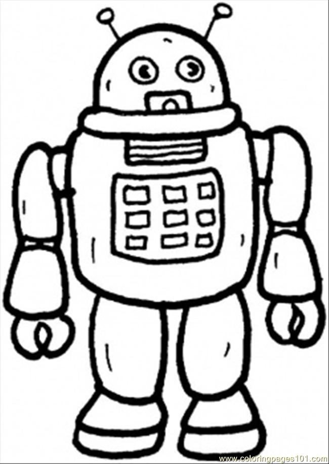 From Future Robots coloring pages and Robot craft ideas for kids Print Color Craft