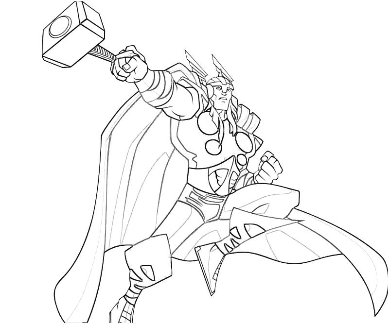 Thor coloring pages (6)