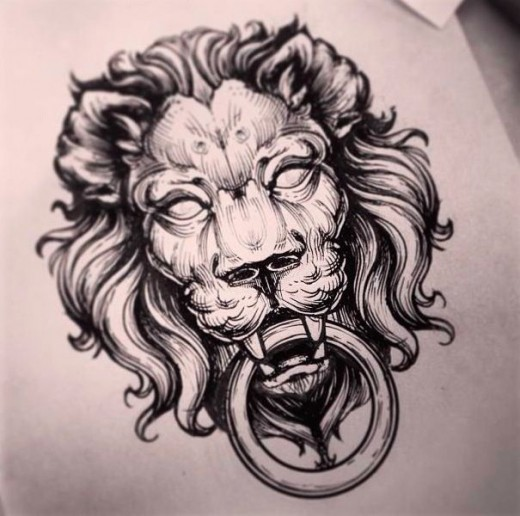lion-tatoo