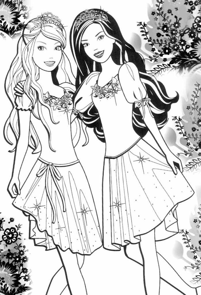 Barbie little girls