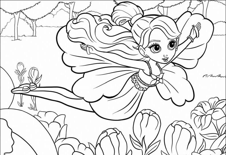 Barbie coloring page (32)