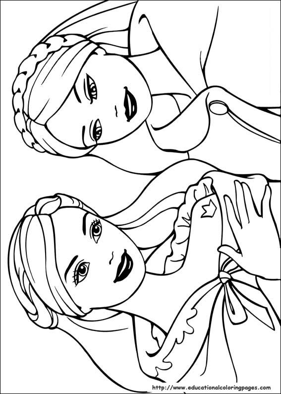 Barbie coloring page (33)