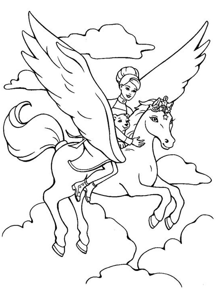 Barbie coloring page (41)