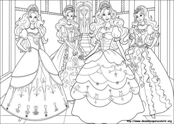 Barbie coloring page (47)