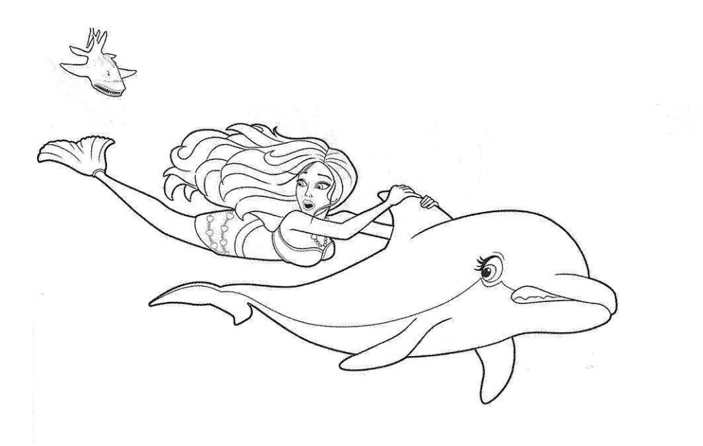 Barbie coloring page (53)