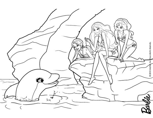 Barbie coloring page (61)