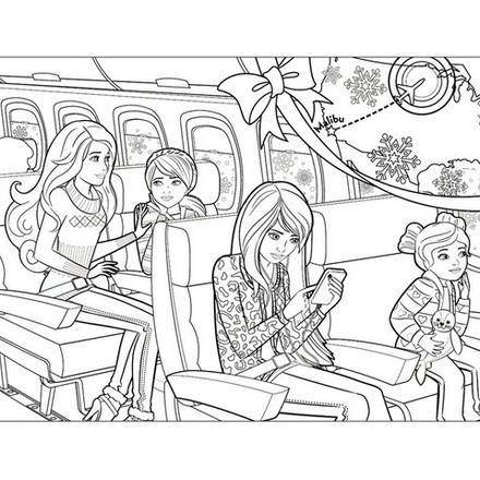 Barbie Coloring Page 71