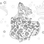 87 Printable Barbie Coloring Pages for Girls